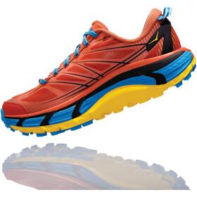 Hoka One One Mafate Speed 2 - Zapatillas running Hombre - gris/naranja